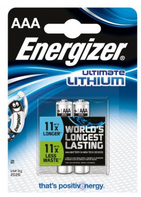 Energizer Litium - AAA 2-pack